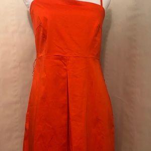 New York & Co. Orange Dress
